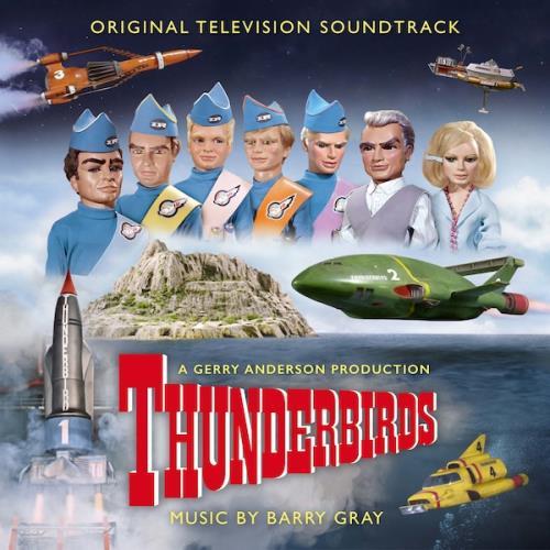 Barry Gray Thunderbirds - Sky Blue Vinyl 2-LP vinyl record set (Double Album) UK BZY2LTH749016