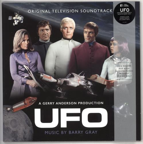 Barry Gray UFO - Original Television Soundtrack - Lilac Vinyl 2-LP vinyl record set (Double Album) UK BZY2LUF729759