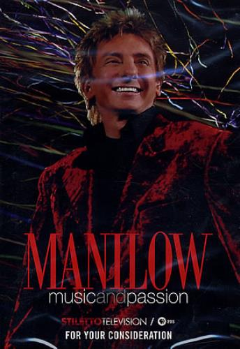 Barry Manilow Music And Passion DVD US MNLDDMU365679