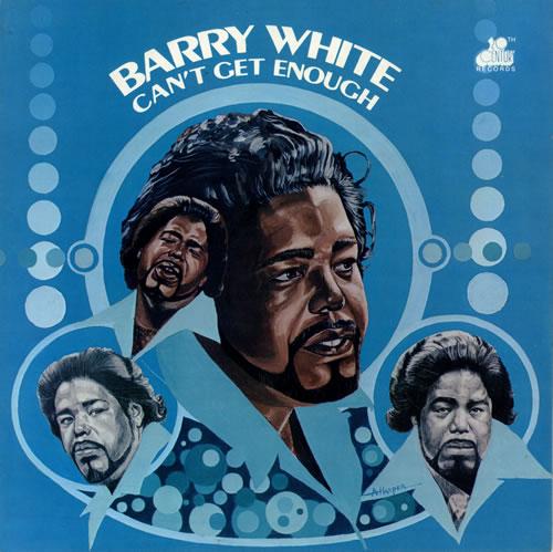 Barry White Can't Get Enough vinyl LP album (LP record) UK BRWLPCA480145