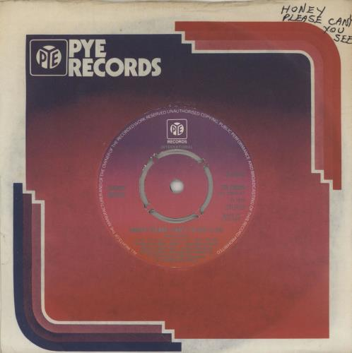 "Barry White Honey Please, Can't Ya See - 4pr 7"" vinyl single (7 inch record) UK BRW07HO756337"
