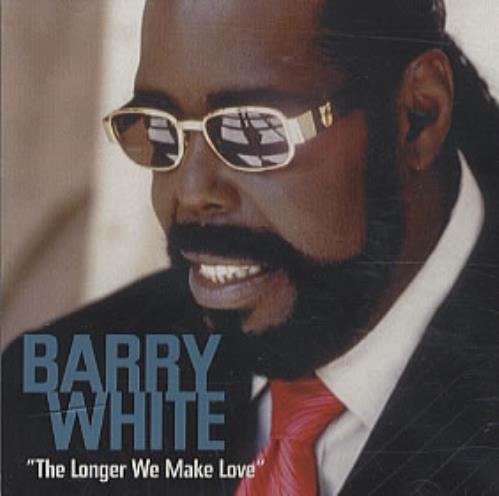 """Barry White The Longer We Make Love CD single (CD5 / 5"""") US BRWC5TH303633"""