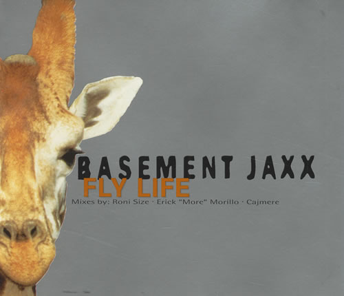 "Basement Jaxx Fly Life CD single (CD5 / 5"") UK BJXC5FL428938"