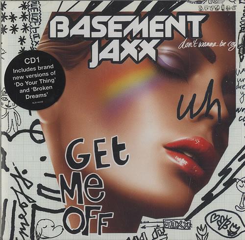 "Basement Jaxx Get Me Off CD single (CD5 / 5"") UK BJXC5GE492360"