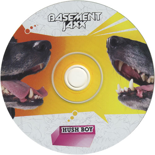 "Basement Jaxx Hush Boy CD single (CD5 / 5"") US BJXC5HU451925"