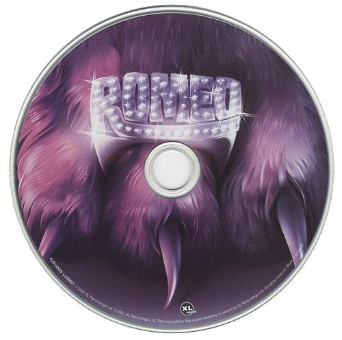 """Basement Jaxx Romeo CD single (CD5 / 5"""") UK BJXC5RO428928"""