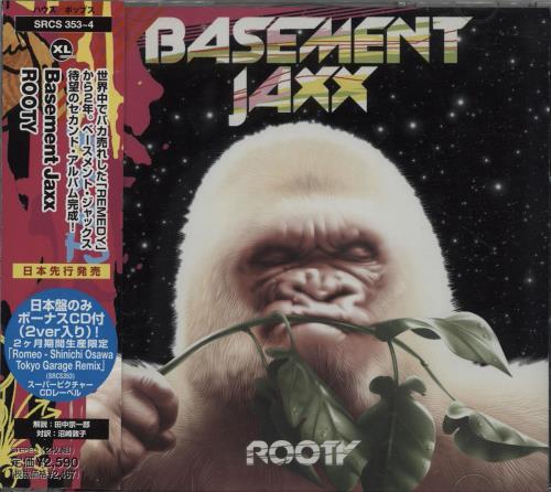 Basement Jaxx Rooty 2 CD album set (Double CD) Japanese BJX2CRO673012