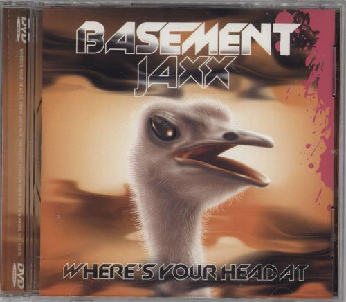 Basement Jaxx Where's Your Head At DVD Single UK BJXDSWH404045