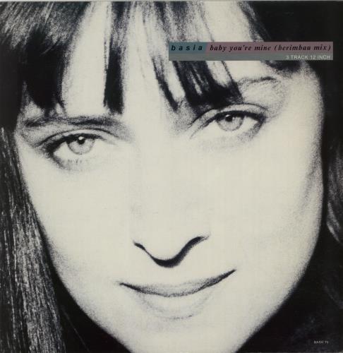 "Basia Baby You're Mine (Berimbau Mix) 12"" vinyl single (12 inch record / Maxi-single) UK BSI12BA654997"