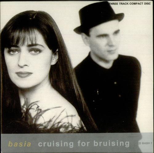 """Basia Cruising For A Bruising CD single (CD5 / 5"""") UK BSIC5CR46832"""
