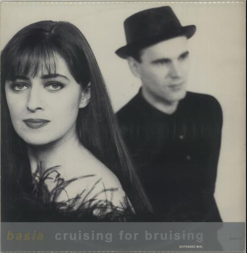 "Basia Cruising For A Bruising 12"" vinyl single (12 inch record / Maxi-single) UK BSI12CR77037"