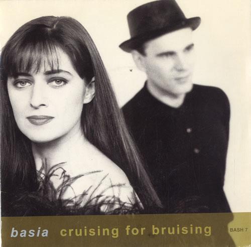 "Basia Cruising For Bruising 7"" vinyl single (7 inch record) UK BSI07CR237156"