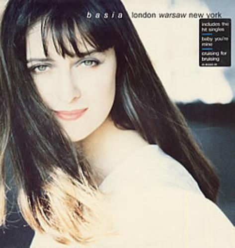 Basia London Warsaw New York vinyl LP album (LP record) UK BSILPLO214813