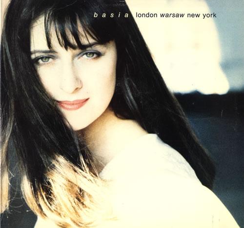 Basia London Warsaw New York vinyl LP album (LP record) US BSILPLO553919