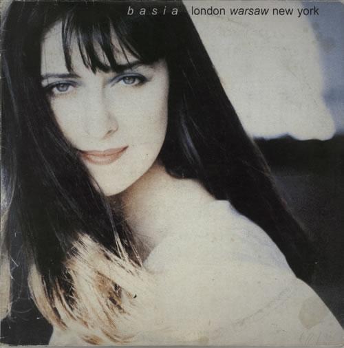 Basia London Warsaw New York vinyl LP album (LP record) Polish BSILPLO574949
