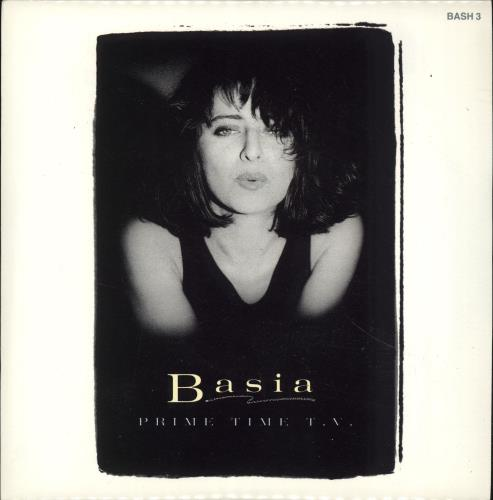"Basia Prime Time TV + Inserts 7"" vinyl single (7 inch record) UK BSI07PR691562"