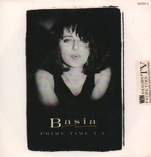 "Basia Prime Time TV - 1987 Issue 7"" vinyl single (7 inch record) UK BSI07PR634209"