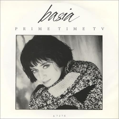 """Basia Prime Time TV 7"""" vinyl single (7 inch record) UK BSI07PR304667"""