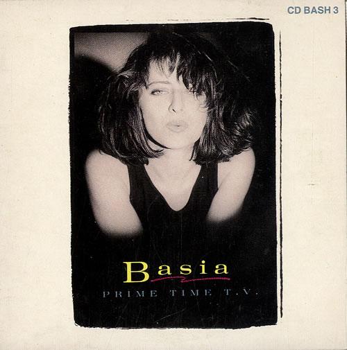 """Basia Prime Time TV CD single (CD5 / 5"""") UK BSIC5PR65061"""