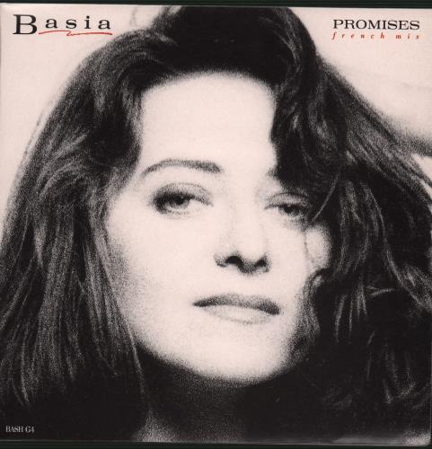 "Basia Promises 7"" vinyl single (7 inch record) UK BSI07PR193815"