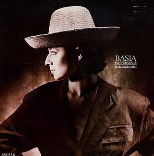 "Basia Run For Cover 12"" vinyl single (12 inch record / Maxi-single) UK BSI12RU284301"