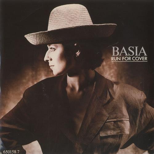 "Basia Run For Cover 7"" vinyl single (7 inch record) UK BSI07RU507451"
