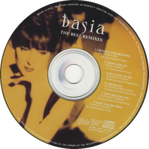 Basia The Best Remixes CD album (CDLP) Japanese BSICDTH119285