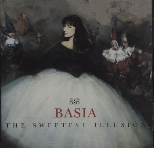 Basia The Sweetest Illusion CD album (CDLP) US BSICDTH29970