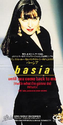 "Basia Until You Come Back 3"" CD single (CD3) Japanese BSIC3UN134542"