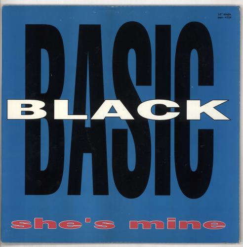 "Basic Black She's Mine 12"" vinyl single (12 inch record / Maxi-single) UK BJQ12SH671736"
