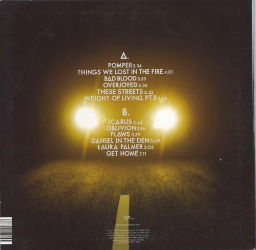 Bastille Bad Blood vinyl LP album (LP record) UK E4SLPBA769608