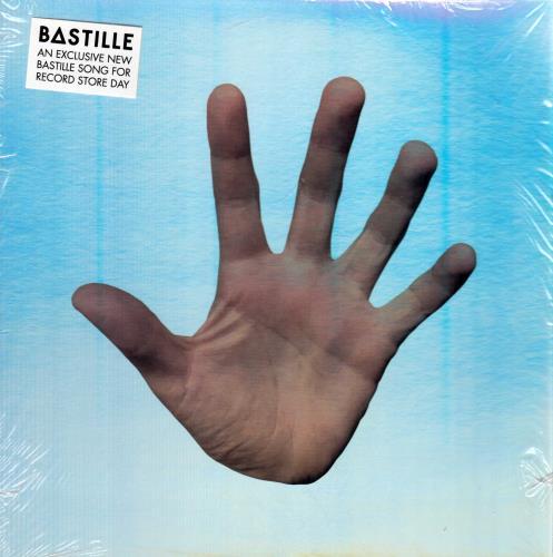 """Bastille Comfort Of Strangers - RSD17 - White Vinyl - Sealed 7"""" vinyl single (7 inch record) UK E4S07CO764570"""
