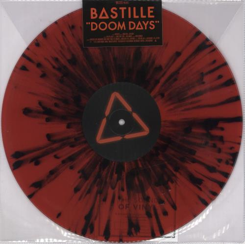 Bastille Doom Days - Sealed vinyl LP album (LP record) UK E4SLPDO723463