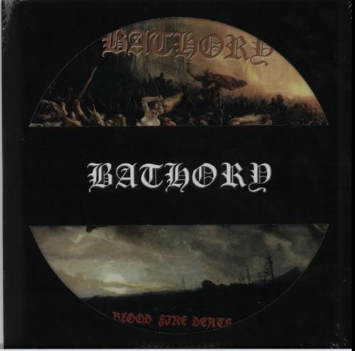 Bathory Blood Fire Death - RSD - Sealed picture disc LP (vinyl picture disc album) UK E07PDBL603033
