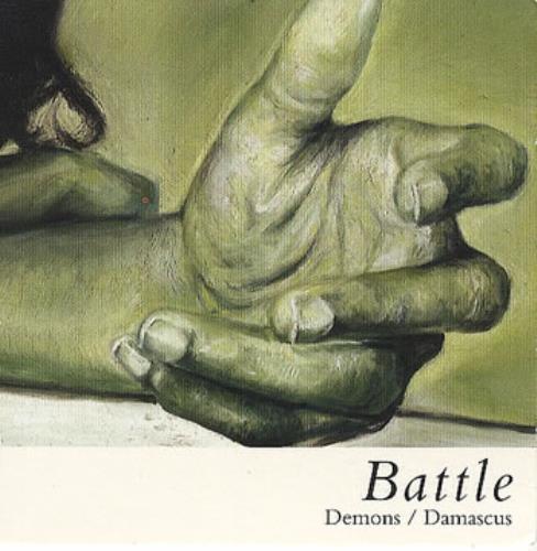 "Battle Demons/Damascus 3"" CD single (CD3) UK BT0C3DE360158"