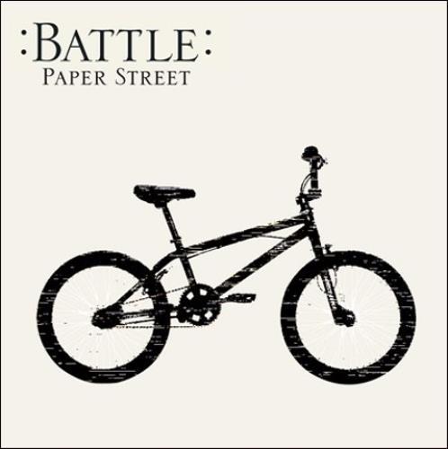"Battle Paper Street 7"" vinyl single (7 inch record) UK BT007PA412348"