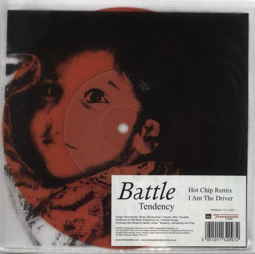 "Battle Tendency - Parts 1 & 2 7"" vinyl single (7 inch record) UK BT007TE716920"