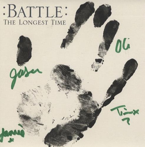 "Battle The Longest Time - Autographed! 7"" vinyl single (7 inch record) UK BT007TH427824"