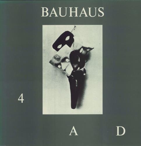Bauhaus 4.A.D. - EX vinyl LP album (LP record) UK BAULPAD575590
