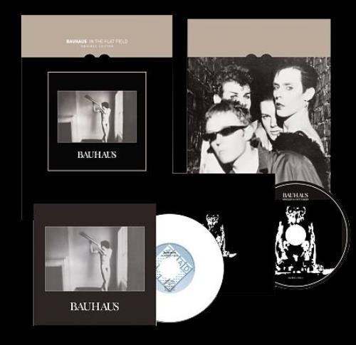 Bauhaus In The Flat Field Uk Cd Album Box Set 486273