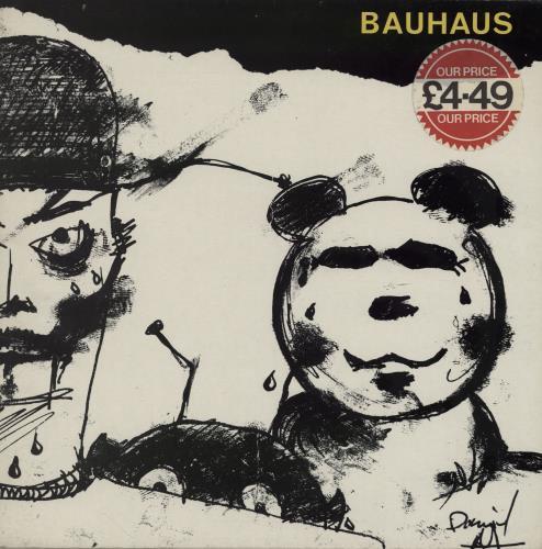 Bauhaus Mask - Price sticker vinyl LP album (LP record) UK BAULPMA755479