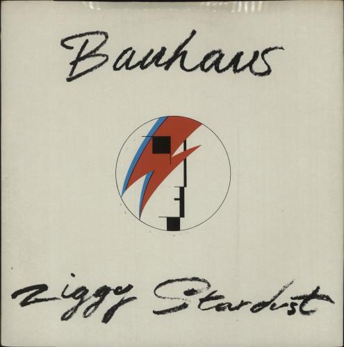 "Bauhaus Ziggy Stardust 12"" vinyl single (12 inch record / Maxi-single) UK BAU12ZI121166"
