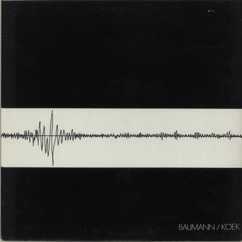 Baumann / Koek Baumann / Koek vinyl LP album (LP record) German QDULPBA687390