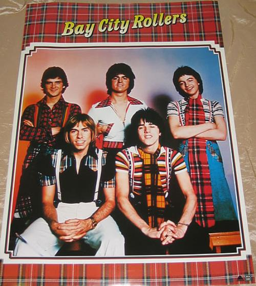 Bay City Rollers Bay City Rollers poster Japanese BAYPOBA350150