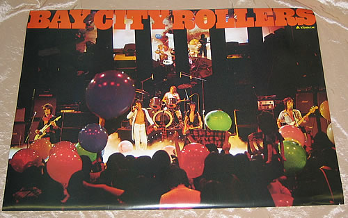 Bay City Rollers British & American Rock Young Idol '77 poster Japanese BAYPOBR350152