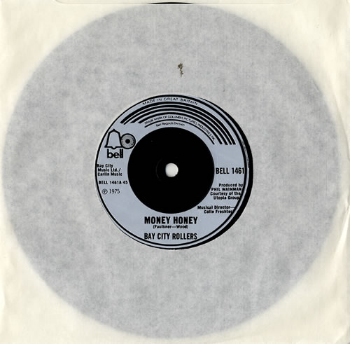 "Bay City Rollers Money Honey - Injection 7"" vinyl single (7 inch record) UK BAY07MO573755"