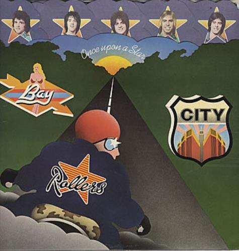 Bay City Rollers Once Upon A Star vinyl LP album (LP record) Japanese BAYLPON136216