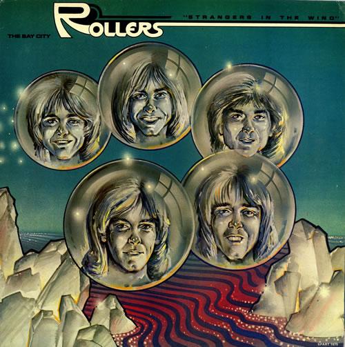 Bay City Rollers Strangers In The Wind vinyl LP album (LP record) UK BAYLPST496738