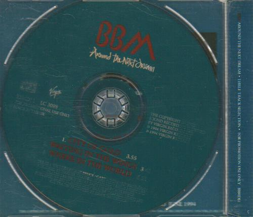 "BBM Around The Next Dream CD single (CD5 / 5"") UK BBMC5AR29113"