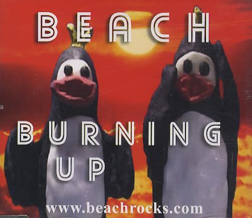 "Beach Burning Up CD single (CD5 / 5"") UK BHHC5BU386963"